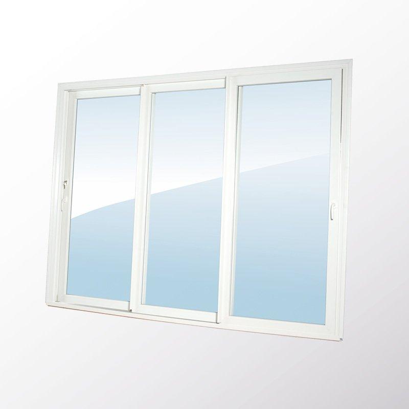 Porte Fenêtre 3 Vantaux Coulissants Avec Serrure